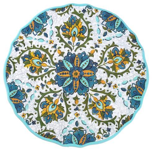 $14.95 Allegra Turquoise Salad Plate