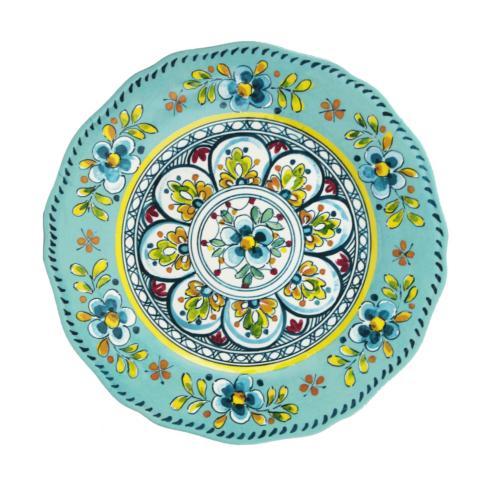 $14.95 Madrid Turquoise Salad Plate