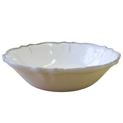 Le Cadeaux   Rustica Antique White Cereal Bowl $15.95