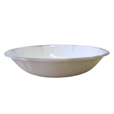 $40.95 Rustica Antique White Salad Bowl