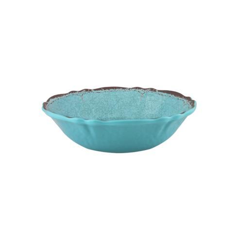 $15.95 Antiqua Turquoise Cereal Bowl