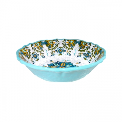 $15.95 Allegra Turquoise Cereal Bowl