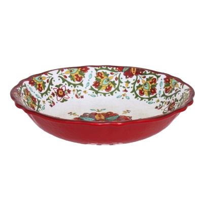 $40.95 Allegra Red Salad Bowl