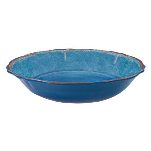 $40.95 Antiqua Blue Salad Bowl