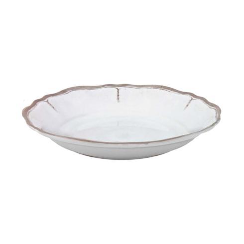 $22.95 Rustica Antique White Pasta Bowl