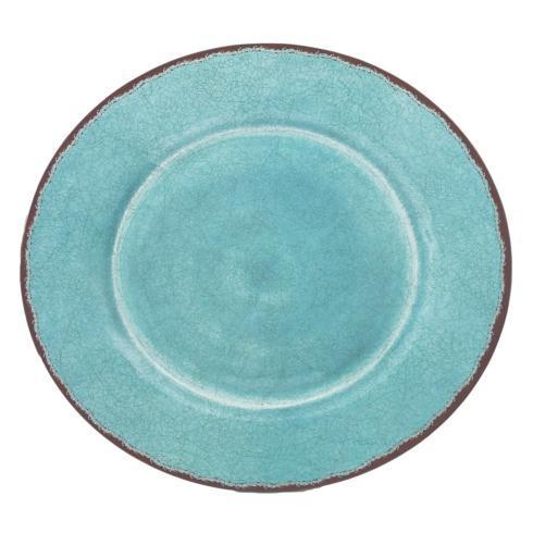 $40.95 Antiqua Platter ~ Turquoise