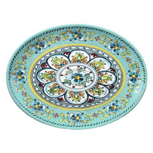 $31.95 Madrid Turquoise Oval Platter