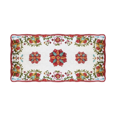 $14.95 Allegra Red Biscuit Tray