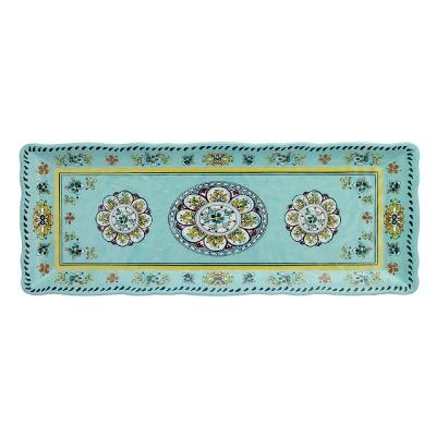 $19.95 Madrid Turquoise Baguette Tray