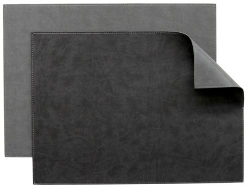 $15.95 Vinyl Placemat ~ Charcoal / Slate