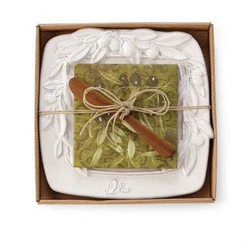 $22.95 Olive Cheese Tray Set