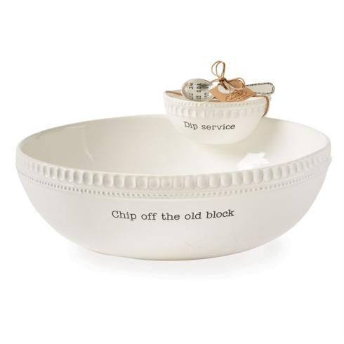 $50.95 Ceramic Stacking Chip \'N Dip Set