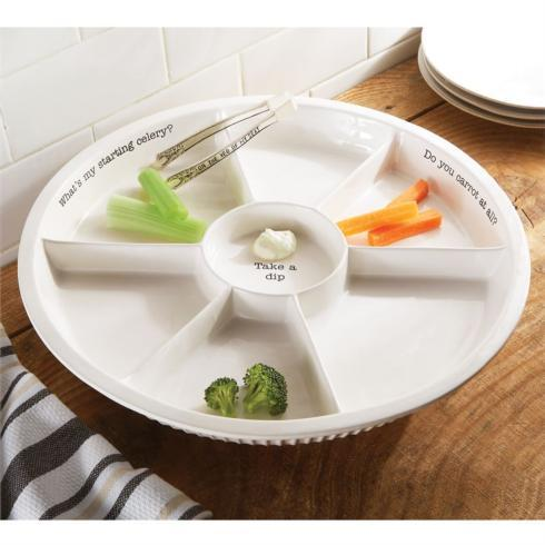 $50.95 Ceramic Veggie Dip Set