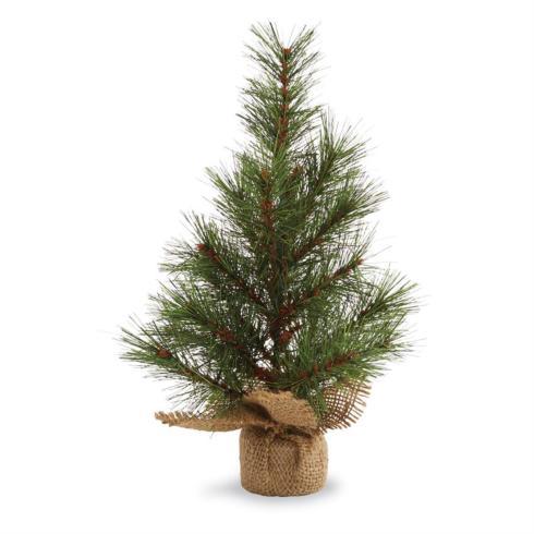 Mudpie   Small Pine Tree with Burlap $11.95