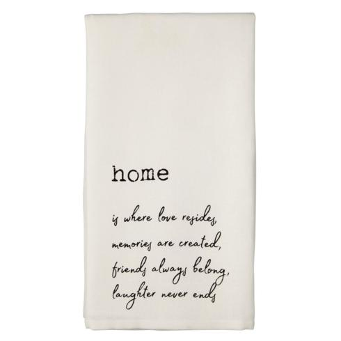 Mudpie   Home Hand Towel $7.95