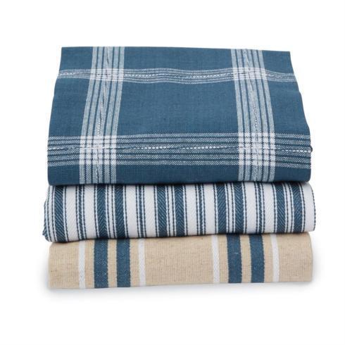 Mudpie   Stacked Towel Set ~ Blue $15.95