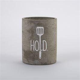 Mudpie   Concrete Utensil Holder $28.95