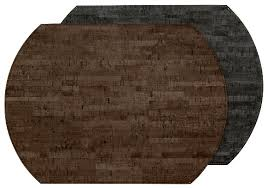 $18.95 Cork Placemat ~ Mink/Charcoal