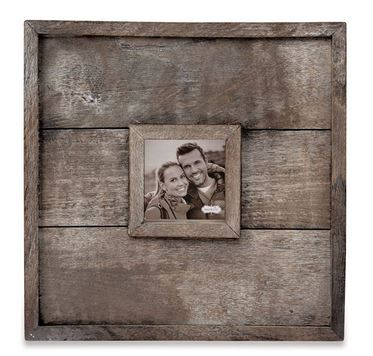 $50.95 Large Square Planked Wood Wall Frame
