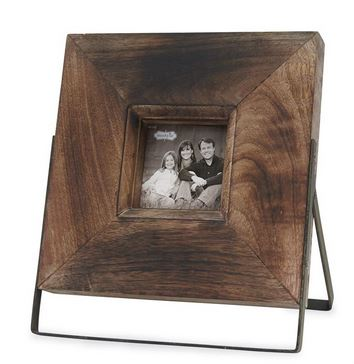 $129,545.00 Large Distressed Wood Easel Frame