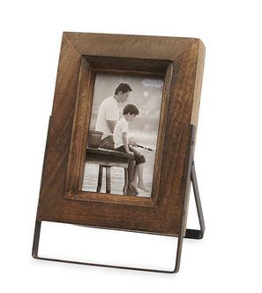 $33.95 Small Distressed Wood Easel Frame