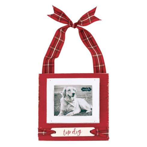 "$11.95 Tartan Hanging Frame ~ ""Top Dog"""