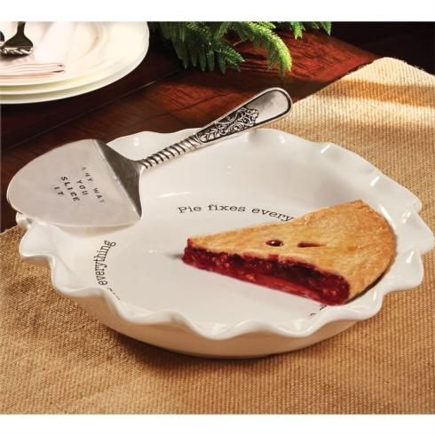 Mudpie   Ceramic Pie Plate with Server $43.95