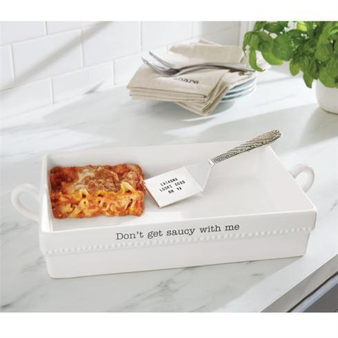 $50.95 Ceramic Lasagna Baker Set