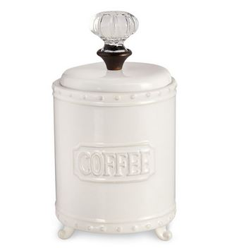 $31.95 Circa Door Knob Coffee Canister