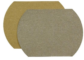 $19.95 Placemats ~ Herringbone ~ Mercury/Wheat