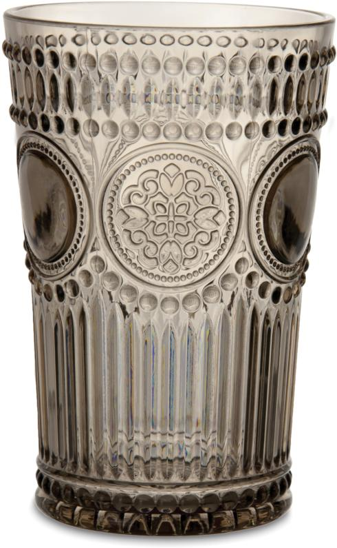 Hollyhocks Exclusives   Arabesque Large Tumbler ~ Wood $12.95