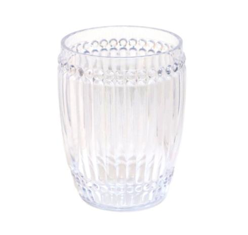 Le Cadeaux   Milano Small Tumbler ~ Clear $9.95