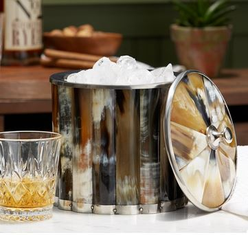 Two's Company   Horn Ice Bucket with Lid $165.95