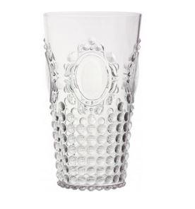 $11.95 Baroque & Rock Large Tumbler ~ Clear