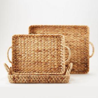 Two\'s Company   Large Rectangle Basket $40.95