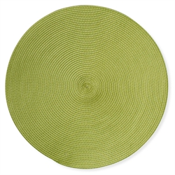 $5.95 Placemat ~ Green Woven