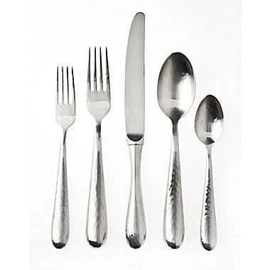 $107.95 Florence 5 Piece Flatware Place Setting