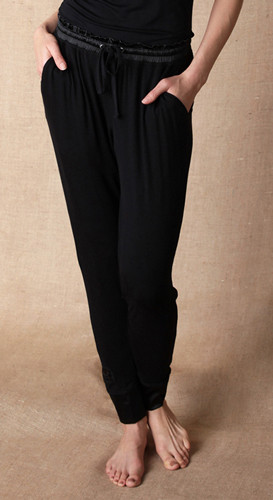 $60.95 Jammie Jogger Pants - Black - Medium