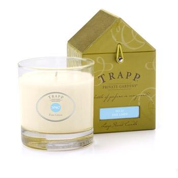 $26.95 Trapp Candle ~ Fine Linen ~ NO.67
