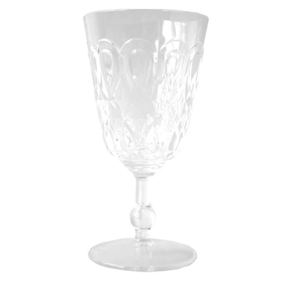 $9.95 Casablanca Wine Glass ~ Clear