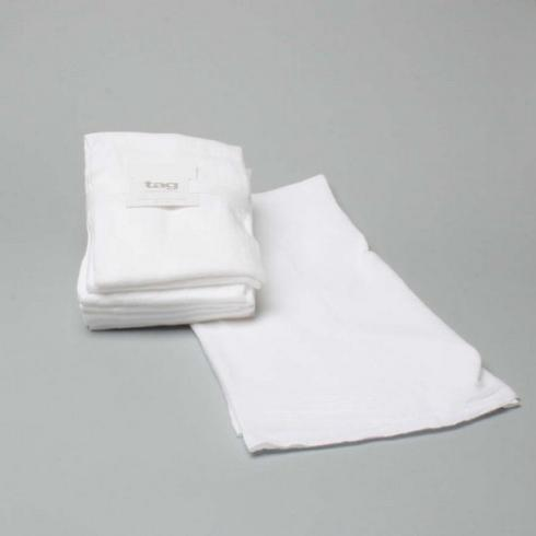 Tag   Floursack Dishtowel ~ Set of 5 ~ White $15.95