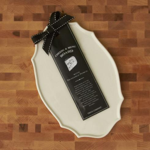 $15.95 Cheese Board/Menu with Pen