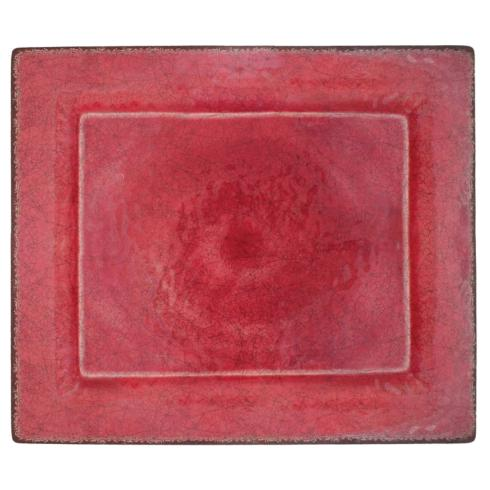 $31.95 Antiqua Red Charger Tray