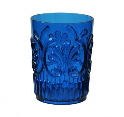$8.95 Fleur Small Tumbler ~ Blue