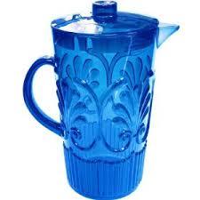 $32.95 Fleur Pitcher ~ Blue
