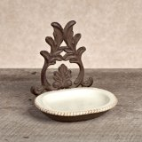 $40.95 Acanthus Spoon Rest ~ Cream