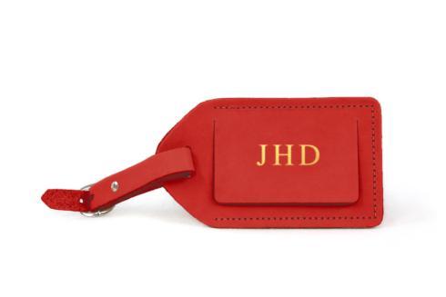 $26.00 Jon Hart Luggage Tag ~ Cherry