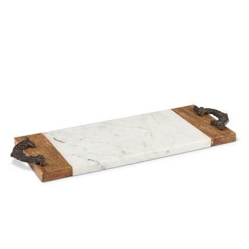 $63.95 Small Marble Serving Board