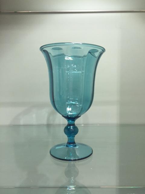 $7.95 Acrylic Goblet ~ Turquoise