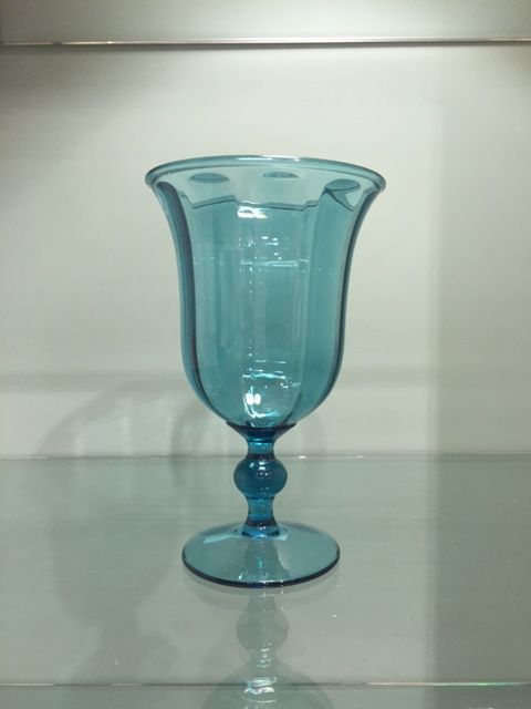 $7.95 Acrylic Goblet ~ Turquoise